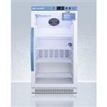 AccuCold ARG31PVBIADADL2B 2.83 cu ft Vaccine Refrigerator w/ Glass Door & Digital Data Logger (ADA Height)