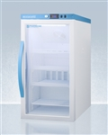 Accucold ARG3PV Performance Counter Height Pharmacy-Vaccine Refrigerator 3 Cu. Ft. with Glass Door