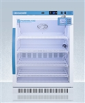 Accucold 6 cu ft ADA Height Vaccine Refrigerator w/ Glass Door & Digital Data Logger