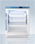 Accucold 6 cu ft ADA Height Vaccine Refrigerator w/ Glass Door & Removable Drawers