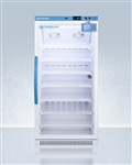Accucold 8 cu ft Upright Vaccine Refrigerator w/ Glass Door & Digital Data Logger