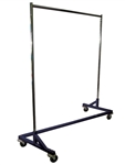 Z Base Mobile Apron Rack