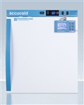 Accucold 1 cu ft Compact Vaccine Refrigerator w/ Solid Door & DL2B Digital Data Logger