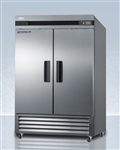 Accucold 49 cu ft Upright Stainless Steel Pharmacy Refrigerator