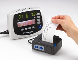 Nonin Portable Thermal Printer with 5 Rolls of Paper