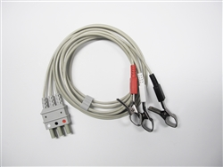 Bionet 3 Lead ECG Cable (Alligator Type)