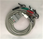 Bionet 5 Lead ECG Cable (Alligator Type)