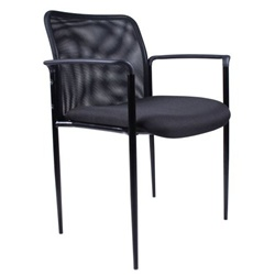 B6909 Stackable Mesh Guest Chair