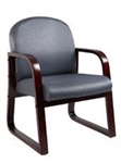 Boss Wood Reception Chair