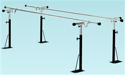 Bailey Basic Floor Mounted Parallel Bars