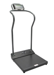 Antimicrobial Digital Platform Scale - Assembled with Height Rod