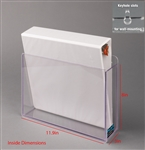 Poltex 3 Ring Binder Holder (Wall Mount)
