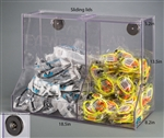 Poltex Combo Eyewear / Earplug Bulk Dispenser (Magnets 4)