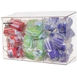 Bowman Bulk Dispenser - Triple Bin - Short