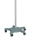 BR Surgical Microscope Rolling Floor Stand