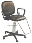 Mammography Non-Reclining Exam Chair - Black