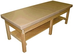 Plain Shelf Bariatric Treatment Table - 1000 lbs Capacity