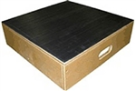 "Bariatric Platform Stool - 1000 lbs Capacity - Non-Slip Rubber Tread Surface - 22"" x 22"" x 6"""