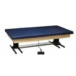 Professional Electric Hi-Lo Upholstered Mat Platform Tables 6 x 8 ft