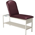 Brewer Element Adjustable Backrest & Shelf Treatment Table