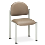 Clinton C-40B Medical Side Chair (Gray Frame)
