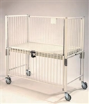 Standard Crib (Infant, Chrome Finish, Flat Deck w/ Plexi End)