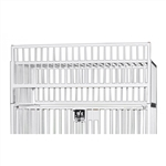 "Novum Medical Crib Cage Top, Use with Standard Child Cribs - 30"" x 60"""