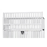 "Novum Medical Crib Cage Top, Use with Standard Youth Cribs - 36"" x 72"""