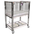 Novum Medical ICU 4-Side Drop Cribs - Child - Flat Deck - Chrome Finish