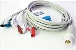 Spacelabs Burdick Direct Connect, One-Piece ECG Cable