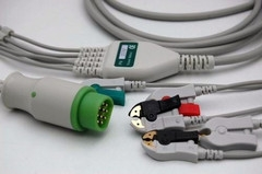Siemens Direct Connect, One-Piece ECG Cable