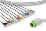 Fukuda Denshi Direct Connect, One-Piece ECG Cable