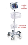 Criticare Roll Stand with Basket