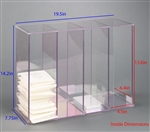 Poltex 4 Slot Cell Culture Plate Organizer