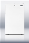AccuCold CM411LBI Undercounter Built-In Refrigerator/Freezer w/Lock