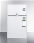 AccuCold CP351WLLF2PLUS Compact Two-Door Refrigerator/Freezer