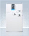 AccuCold CP351WLLF2PLUS2 Compact Two-Door Refrigerator/Freezer