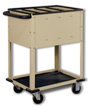 Top Loading CR Plate Cart with 4 Compartments