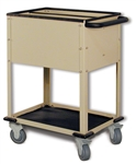 Top Loading CR Plate Cart with 2 Compartments