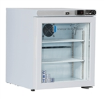 1 cu ft ABS Undercounter Controlled Freestanding Room Temperature Cabinet (Glass Door)
