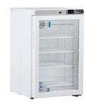 2.5 cu ft ABS Undercounter Controlled Freestanding Room Temperature Cabinet (Glass Door)