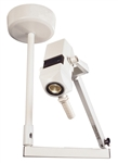 Burton CoolSpot II Examination Light 120v with Double Ceiling Mount