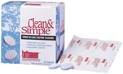 Tuttnauer Clean & Simple Ultrasonic Cleaning Tablets