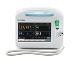 CVSM 6500 -- Blood Pressure, Pulse Rate, MAP, Printer, Masimo SpO2, Total Hemoglobin & SureTemp