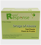 Rapid Response Mult-Drug Test Panel (2 to 12 Panels)