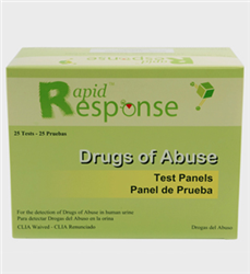 Rapid Response Multi-Drug Test Panel (2 to 12 Panels)