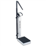 Detecto Physician's Scale - Digital - Waist High - Height Rod - 750 Indicator
