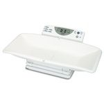 Detecto Pediatric Digital Scale - 44lb x 1/2oz / 20kg x 10g - Weighing Tray