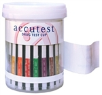 Accutest Drug Test Cups - 5 Panel (AMP•COC•OPI•PCP•THC)