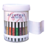 Accutest Drug Test Cups - 12 Panel